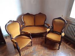 Salotto vintage