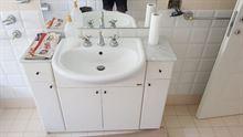 Mobile bagno con lavandino ad incasso