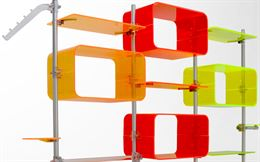 Arredamento in plexiglass per ufficio/negozio/casa