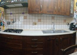 Cucina Completa - lastra di marmo