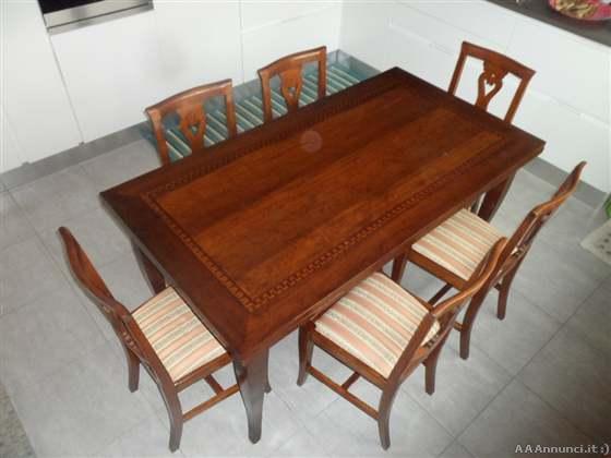 Venezia tavoli usati sedie usate tavoli cucina sedie for Tavolo legno noce nazionale