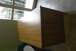 Scrivania ufficio rettangolare in legno