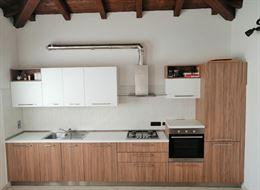 Cucina lineare completa