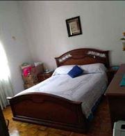 Camera da letto usata.