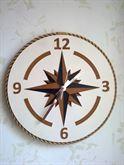 Orologio da muro raffigurante Rosa dei Venti