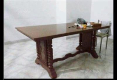 Tavolo tutto legno 188 x 90 cm