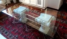 Tavolino cristallo