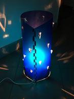 29 lampade blu da tavolo in plastica