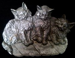 Gattini in peltro