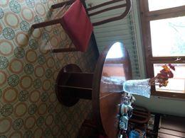Tavolo Allungabile con sei sedie rivestite