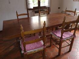 Tavolo da taverna arte povera
