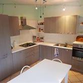 Cucina grigia 5,20 mt