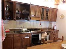 Cucina componibile in legno massello