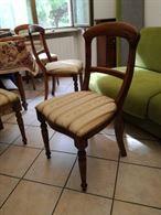 Sedie - Set di 6sedie con seduta imbottita