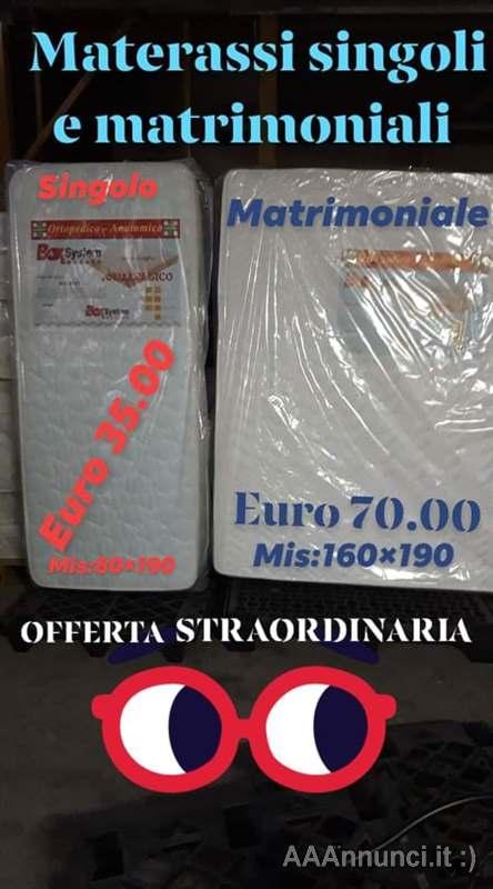 Materassi Fabricatore Napoli.Materasso Matrimoniale O Singolo Napoli Campania