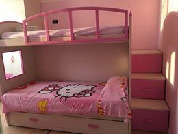 Cameretta come nuova con letto a castello