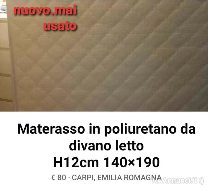 Divano Letto A Modena.Materasso Da Divano Letto Mai Usato Modena Emilia Romagna