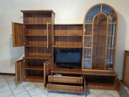 Mobile arredo salotto legno massiccio