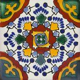 Ricarda - Piastrelle Messicane dipinte a mano | Talavera
