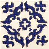Enrica - Piastrelle Messicane in Ceramica con patterns a Ril