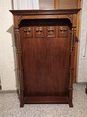 Appendiabiti in legno stile classico con 4 ganci