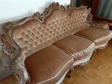 Salotto stile barocco
