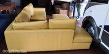 Vendita - divano 7 posti in pelle scomponibile