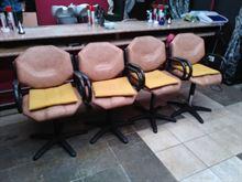 4 sedie da parrucchiera