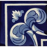 Asturia Cenefa 2 - Piastrella decorativa - 1 pezzo