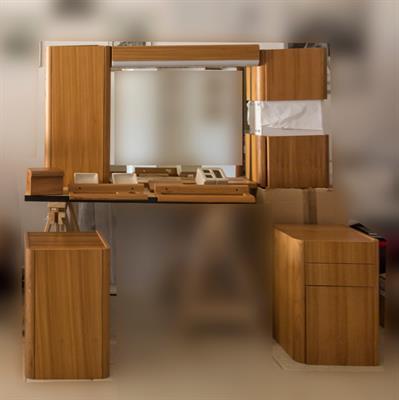 Mobili bagno componibili in legno massello di olmo in ottime