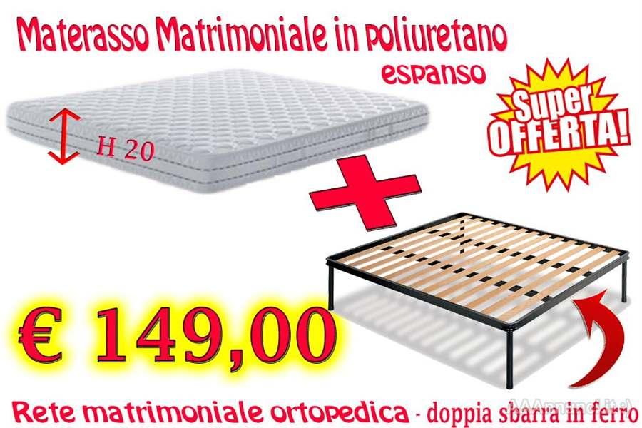Materasso Matrimoniale Poliuretano Espanso.Materasso Matrimoniale Rete Napoli Campania