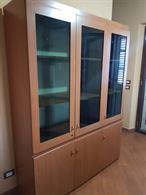 Vetrina in legno e vetro 3 ante