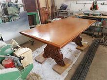 Tavolo di legno ristaurato belisimo, spetacolare