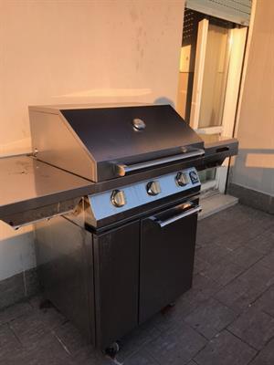 Griglia professionale barbecue