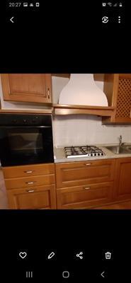 Cucina in legno usata