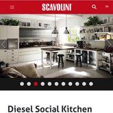 Cucina Scavolini Diesel - NUOVA - MAI MONTATA E IN GARANZIA