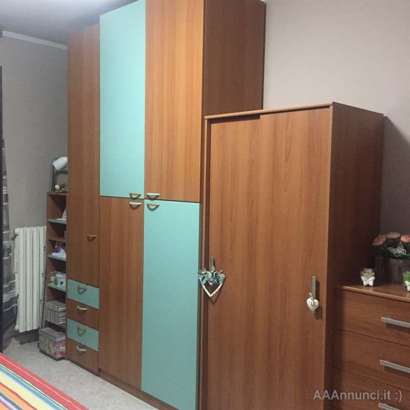 Camera - Letto matrimoniale - armadio 4 ante - Torino ...