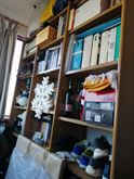 Libreria ottime condizioni in legno noce