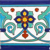 Muse - Piastrelle Messicane in Ceramica con patterns a rilie