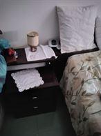 2 comodini + struttura letto
