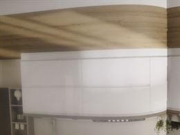 Cucina colore bianco lucido