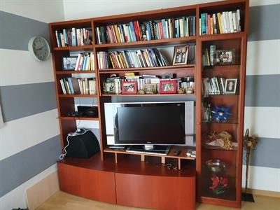 Mobile libreria – porta televisione per soggiorno