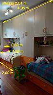Mobili soggiorno, entrata e camera bambini