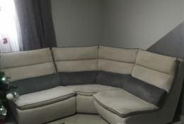 Château Dax divano angolare grigio