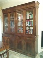 Libreria in legno anni '60 - '70 del 1900