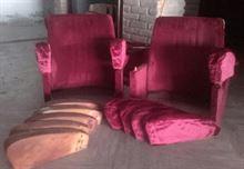 Schienali braccioli sedili rivestiti per poltrone