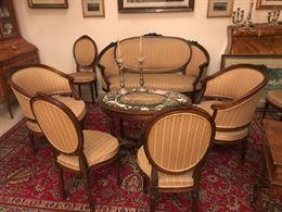 Salotto stile Luigi XVI