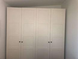 Armadio PAX di Ikea in bianco - 235 cm di altezza