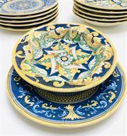 12 piatti stile vietrese