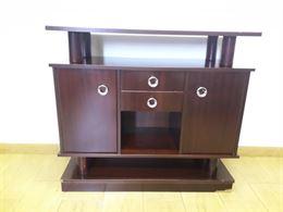Mobiletto soggiorno in legno porta tv